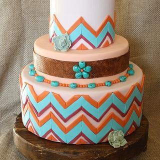 New Mexico Wedding Cake
