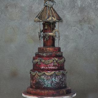 A rotating wonder - Cake by Seema Bagaria