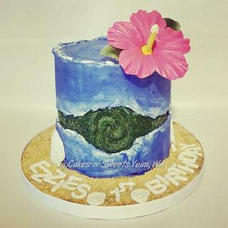 Heart of Tefiti fault line cake