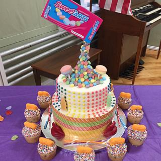 Retro Candy Cake - Cake by Julie