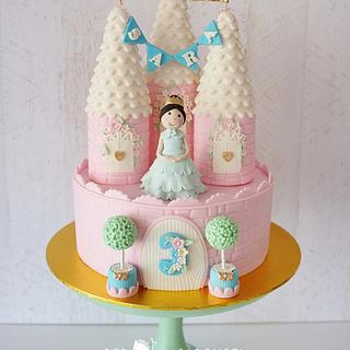 Castle Princess Cake