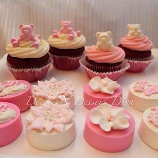 For Baby Mya Cupcakes & Covered Oreos