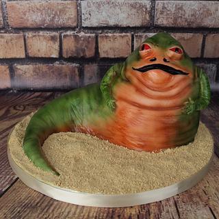 Sculpted Jabba The Hutt