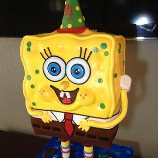 Standing Sponge Bob