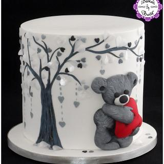 Depressed Cake Shop Auction - Cake by BakedbyBeth