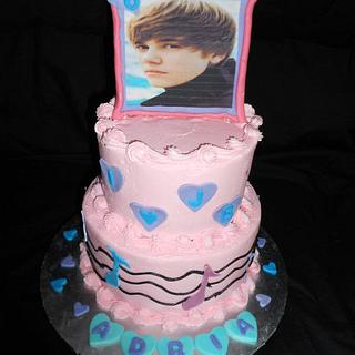 Another Justin Beiber Cake... - Cake by caymancake