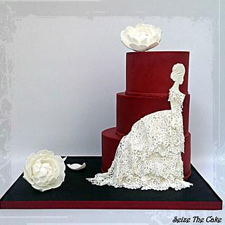 """La Traviata"" Cake - Cake by Seize The Cake"