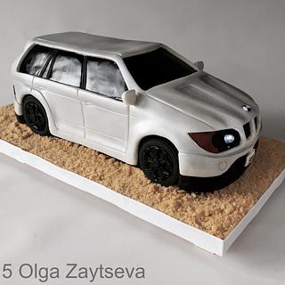 Car cake.