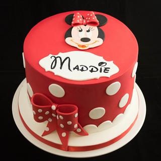 Minnie Mouse for Maddie