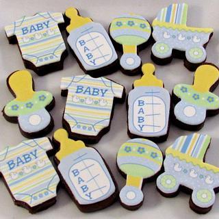 Mini Baby Brownie Bites - Cake by Cheryl