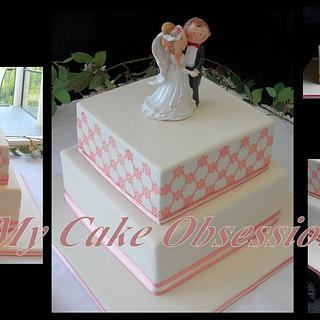 Janette's Wedding Cake