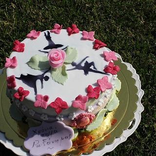 Special cake for ballet teacher
