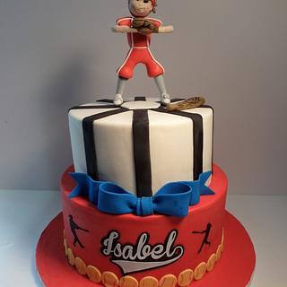 Softball Girl Cake