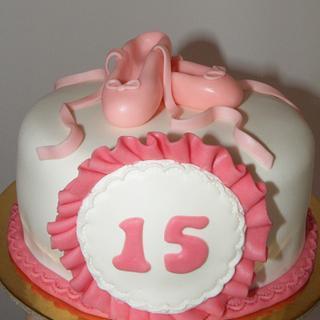 Ballet cake - Cake by bolosdocesecompotas