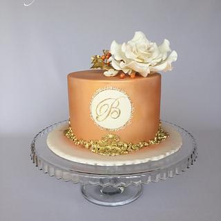 Elegant birthday cake  - Cake by Layla A