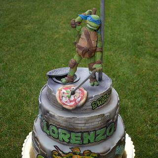 TMNT Ninja Turtles - Cake by Dolcidea creazioni