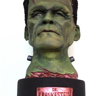 Frankenstein and his splitting headache!