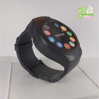 Smartwatch cake