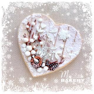 """Winter fairy tale"" Cookie Card"