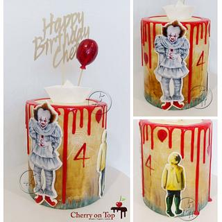 IT Horror Movie Cake - Cake by Cherry on Top Cakes