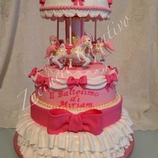 Sweet carillon cake