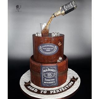 Jack Daniels Cake - Cake by Antonia Lazarova