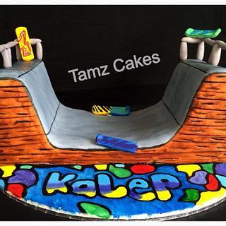 Skate Park Cake - Cake by Tammy