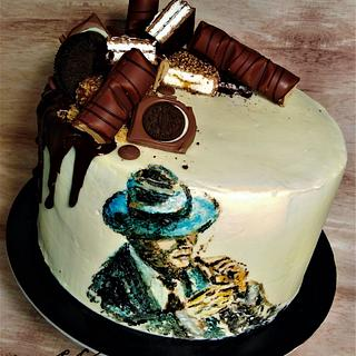 Man Cake
