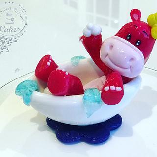 Cute Sweet Hippo