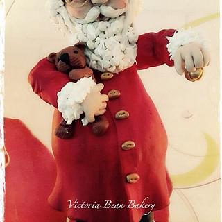 Santa Claus  - Cake by VictoriaBean