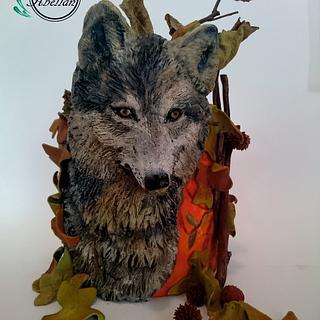 Lobo Ibérico Animal Rigths collaboration - Cake by Victoria Abellán