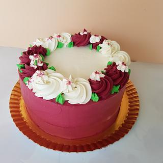 Bordo cake