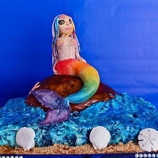 Rainbow Goddess of the Sea