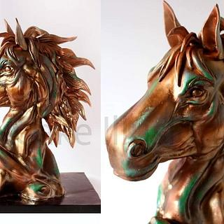 Horse Bust -All Cake