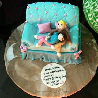 Sofa cake - Cake by Renuka Kulkarni