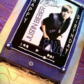 JB Ipod Purple - Cake by Dawn Henderson