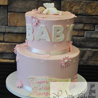 Gorgeous Baby Shower Cake - Cake by Leo Sciancalepore