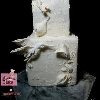 Bird - Cake by Fashflower's cake by Margherita Ferrara