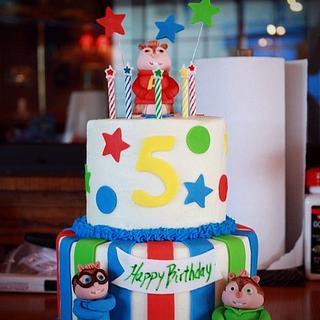 Alvin & the Chipmunks Cake