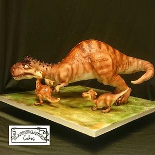 Ice Age Dino family