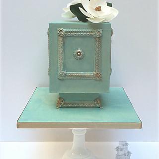 Antique Box Cake