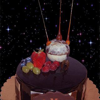 birthday cake - UFO?