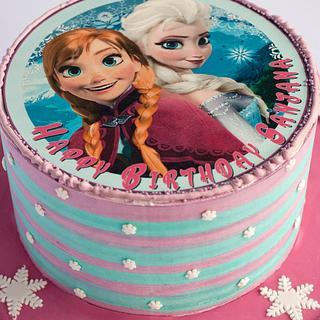 Frozen - Cake - Cake by Caketherapie