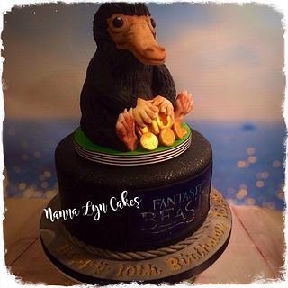 Niffler - Cake by Nanna Lyn Cakes