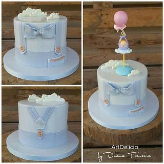 Anniversary - Baby Shower Cake