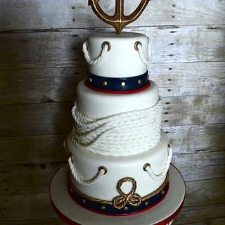Nautical Cake - Cake by Fallon Rae Cakes