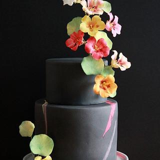 Nasturtiums Cake