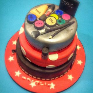 Minnie Mouse and Movie Lovers Birthday Cake