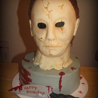 Michael Myers - Halloween  - Cake by Deborah