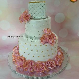 Engagement cake  - Cake by Divya chheda